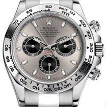 Rolex Daytona White gold 40mm Silver Arabic numerals United States of America, New York, New York