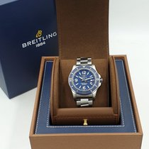 Breitling Superocean 44 Steel 44mm Blue Arabic numerals