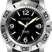Nauticfish Steel Automatic Black Arabic numerals 45mm new