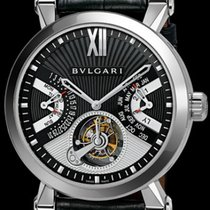 Bulgari Sotirio Platinum 43mm Black No numerals United States of America, California, Sun Valley