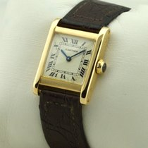 Cartier TANK 18K YELLOW GOLD 750 VINTAGE