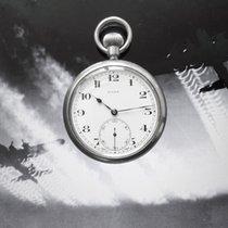 Rolex Uhr gebraucht 1930 Stahl 52mm Arabisch Handaufzug Nur Uhr