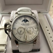 Graham Chronofighter 1695 2CXCS.S06A Very good Steel 36mm Quartz Singapore, Singapore