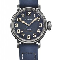 Zenith Pilot Type 20 Extra Special Stainless Steel Men's...