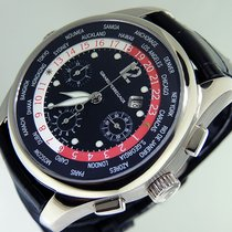 Girard Perregaux WW.TC World Timer Chronograph 4980 18k White...