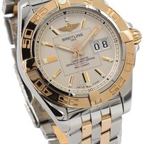 Breitling Galactic 41 C49350L2/G701-18k Rose Gold & Stainless...