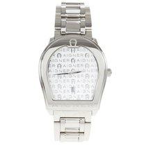 Aigner White Stainless Steel Verona Men's Wristwatch 38MM