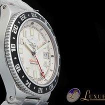 Breitling Superocean GMT Edelstahl 41mm