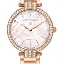 Harry Winston Rose gold Automatic 36mm new Premier