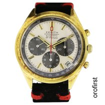 Zenith Yellow gold Automatic White 37mm pre-owned El Primero