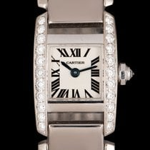 Cartier Tank (submodel) pre-owned 20mm White gold