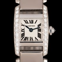 Cartier Tank (submodel) White gold 20mm Silver Roman numerals United Kingdom, London