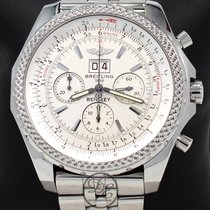 Breitling For Bentley 6.75 A44362 49mm Chronograph Auto White...