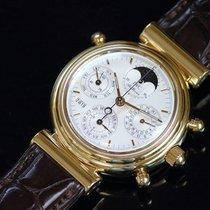 IWC 3751-007 Gulguld Da Vinci Perpetual Calendar begagnad
