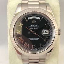 Rolex Day-Date II 218239 Whit Gold / 41mm
