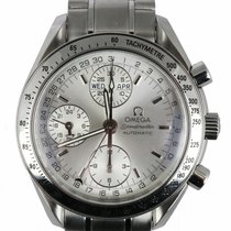 Omega Speedmaster Day Date Steel 40mm Silver United States of America, New York, Smithtown