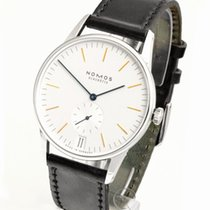 NOMOS Orion Datum new Manual winding Watch with original box and original papers 380