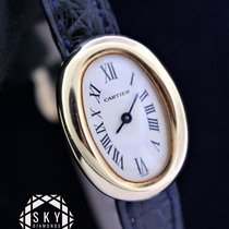Cartier Baignoire Yellow gold 25mm Roman numerals United States of America, New York, NEW YORK