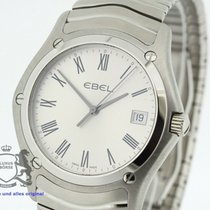 Ebel pre-owned Quartz 37mm White Sapphire Glass