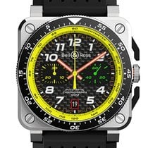 Bell & Ross Acciaio 42mm Automatico BR0394-RS19/SRB nuovo