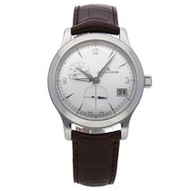 Jaeger-LeCoultre Master Hometime Steel 40mm Silver Arabic numerals United States of America, Pennsylvania, Bala Cynwyd