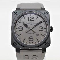Bell & Ross BR 03-92 Ceramic nuevo Automático Reloj con estuche y documentos originales BR0392-COMMANDO-CE