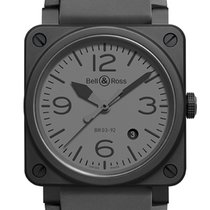 Bell & Ross BR 03-92 Ceramic BR0392-COMMANDO-CE new