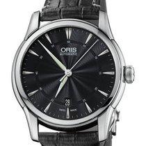 Oris Artelier Date Steel 40mm Black