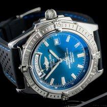 Breitling Headwind Stahl 42mm Blau