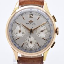 Marvin Rose gold 36mm Manual winding pre-owned