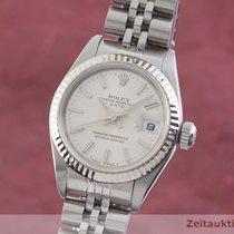 Rolex Lady-Datejust Zlato/Ocel 26mm Stříbrná