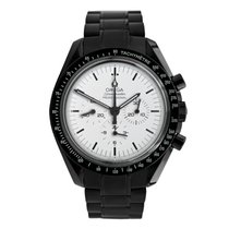Omega Speedmaster Professional Moonwatch Ατσάλι 42mm Άσπρο