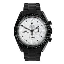 Omega Speedmaster Professional Moonwatch Otel 42mm Alb