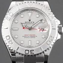 Rolex Yacht-Master 40 Stål 40mm Silver Inga siffror