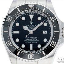 Rolex Sea-Dweller Deepsea gebraucht 43mm Schwarz Datum Stahl