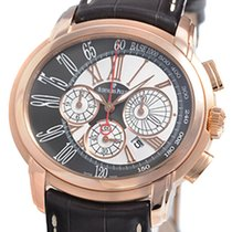 Audemars Piguet Millenary Chronograph Rose gold 47mm Silver Roman numerals