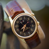 Girard Perregaux 4940 Yellow gold Traveller 40mm pre-owned