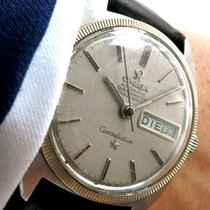 Omega Constellation Day Date Datum with White Gold Bezel Vintage