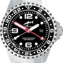 Chris Benz Deep 2000m Automatic GMT CB-2000A-D1-MB Herren...