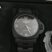 Panerai Luminor 1950 3 Days GMT Ceramic Tuttonero Pam438