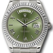 Rolex Day-Date 40 Oro blanco