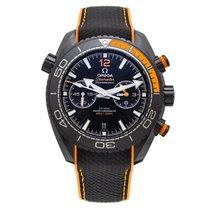 Omega Céramique Remontage automatique Noir 45.5mm nouveau Seamaster Planet Ocean Chronograph