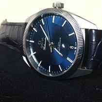Omega Globemaster Stahl 39mm Blau Keine Ziffern