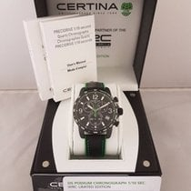 Certina DS Podium Сталь 41mm Чёрный