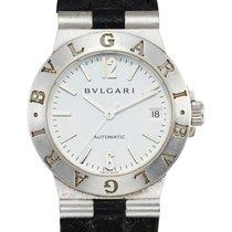 Bulgari , White Gold Automatic Wristwatch With Date |
