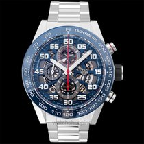TAG Heuer Carrera Calibre HEUER 01 Steel 45mm Transparent United States of America, California, San Mateo