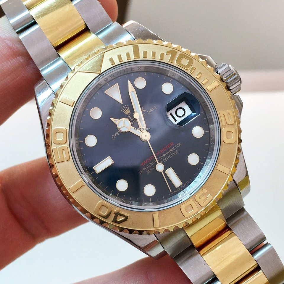 62a46078520 Relógios Rolex Yacht-Master usados