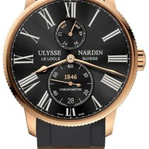 Ulysse Nardin Rose gold 42mm Automatic 1182-310-3/42 new United States of America, New York, Airmont
