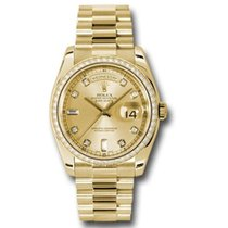 Rolex Day-Date 36 Ouro amarelo 36mm Champanhe