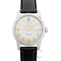 Longines Conquest Heritage Steel Silver